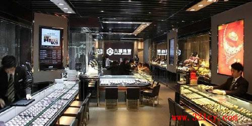六福珠宝门店