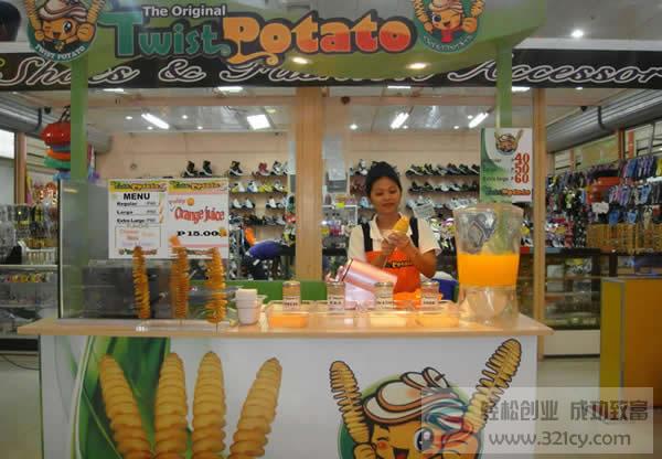韩国龙卷风土豆加盟
