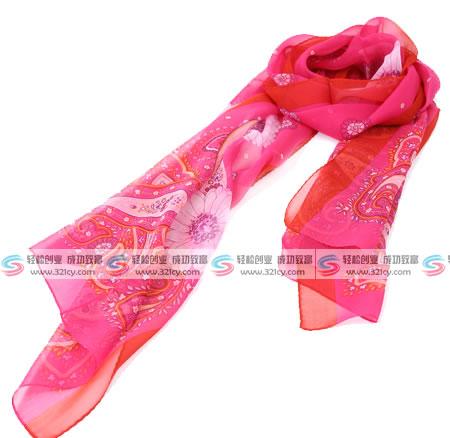 宝石蝶丝巾代理
