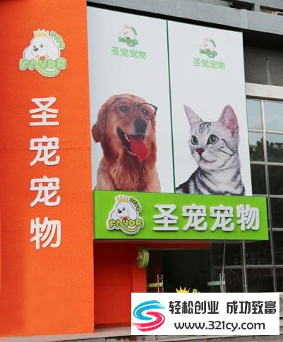 圣宠宠物店连锁加盟