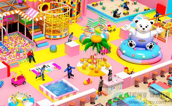 海之星儿童乐园加盟