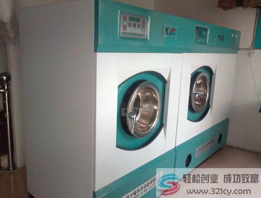 卡福干洗设备加盟