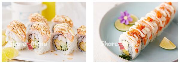 鲜目录大卷寿司