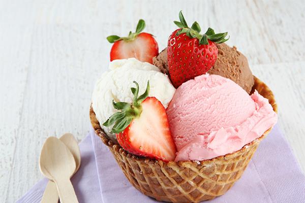 水果冰淇淋店
