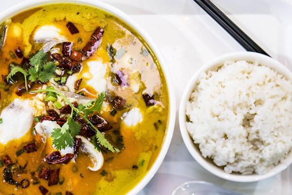 酸菜鱼米饭快餐哪个品牌好